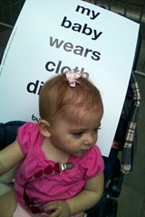 The Today Show with cloth diapers