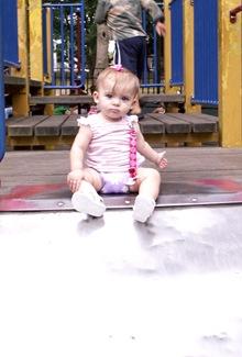 Elaine 8 months Owls Head Park & Pier