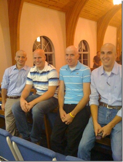 The bald guys