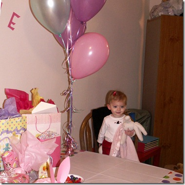Elaine's 1st Birthday