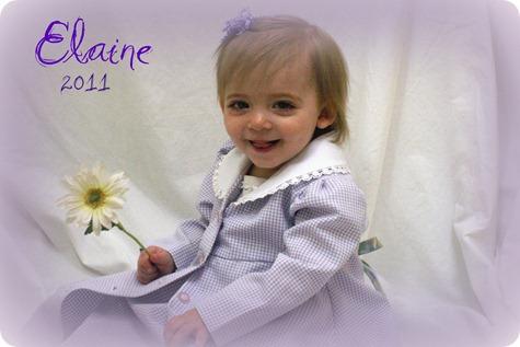 Elaine 18 month portraits