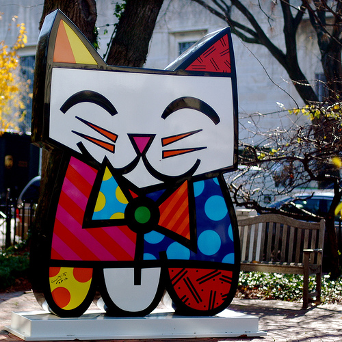 romero britto art. Squeaki Britto by Romero