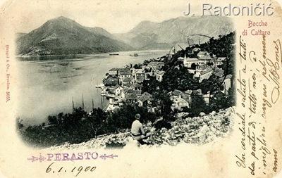 Panorama Perasta 1900