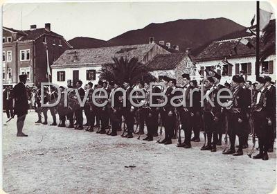 Tivat-smotra Bokeljske mornarice