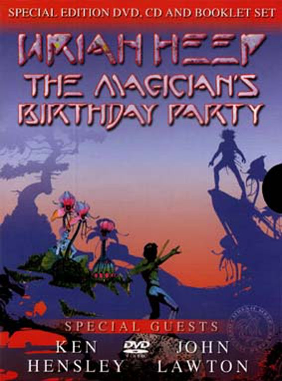 Uriah Heep: The Magician's Birthday Party Box 2002