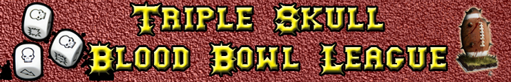 Triple Skull Blood Bowl League