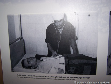 John McCain at the Hanoi Hilton (Hoa Lo Prison)