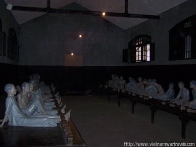 Hanoi Hilton (Hoa Lo Prison) prisoner area