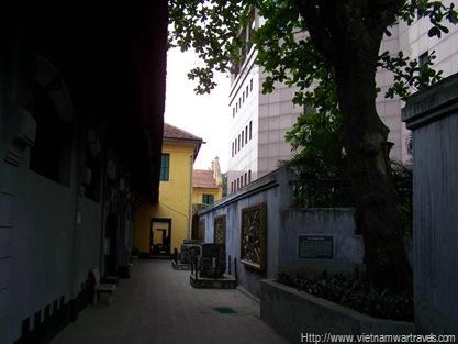 Hanoi Hilton (Hoa Lo Prison) almond tree