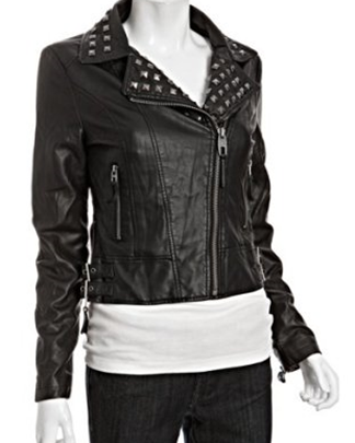 Miss-Sixty-Moto-Faux-Leather-Jacket
