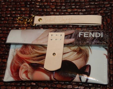 Fendi Fashion Magazine Clutch