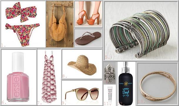 Spring Summer Essentials Collage