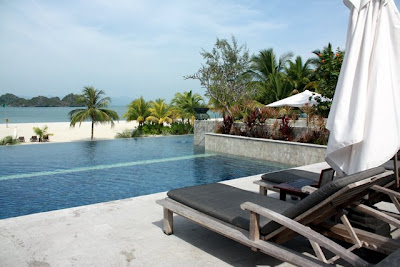 Pool at the Four Seasons Resort in Langkawi
