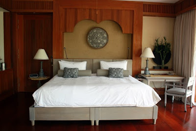 Guest room at the Four Seasons Langkawi hotel
