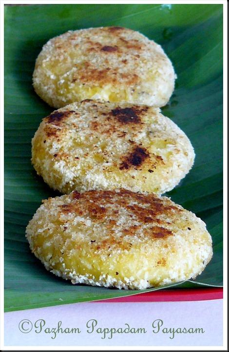 Ethapazham/ripe banana cutlets