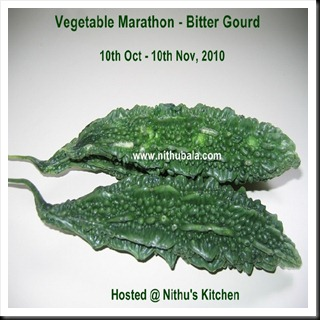Vegetable Marathon - Bitter Gourd - Event Logo