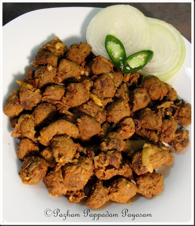 Kerala style soya roast