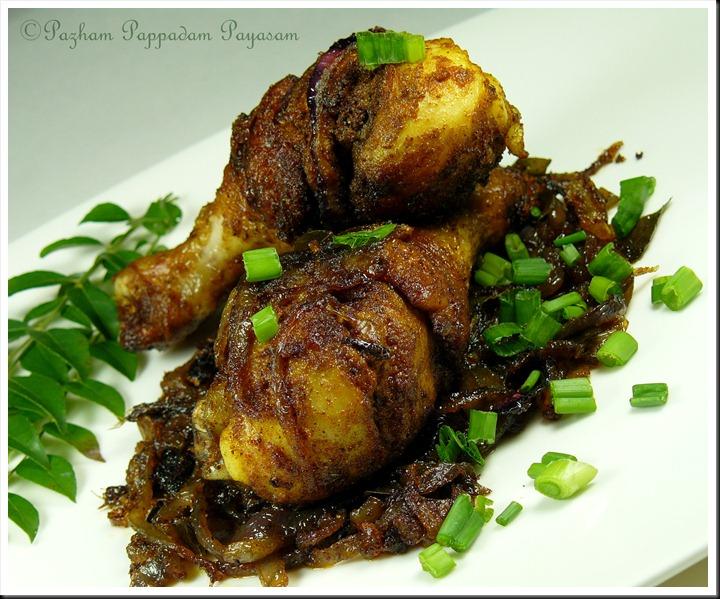 Kerala style, chicken fry