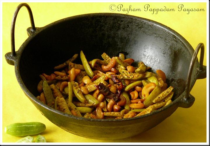 Ivy gourd stir fry