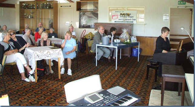 Some of the members enjoying the music and occasion