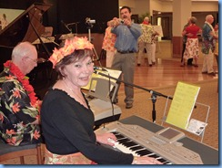 Peter Brophy and Carole Littlejohn playing a Yamaha PSR S-910 and Korg Pa1X respectivley for the Old Time Dance segment of Happy Hour