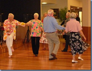 Some more of the residents enjoying the Old Time Dance music of Peter Brophy and Carole Litttlejohn
