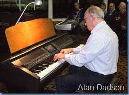 Alan Dadson showing his great touch on the CVP-509