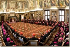 VATICAN POPE CARDINALS