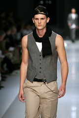 Menswear Spring summer 2008 Neil_Barrett_ Milano june 2007