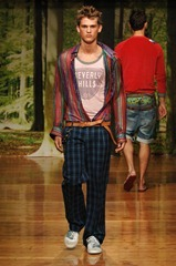 MENSWEAR  Spring 2006 D and G men by Dolce and Gabbana Milano 28 to 30 of june 2005