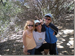 oak canyon hike mommy and kids