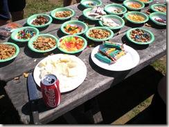 PCTR Malibu Creek post race food