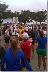 Palos Verdes half marathon start