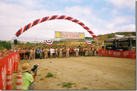 camp pendleton mud run start1