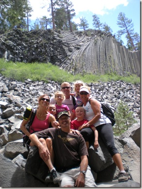 Devils post pile group shot