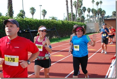 Santa Barbara Marathon final stretch