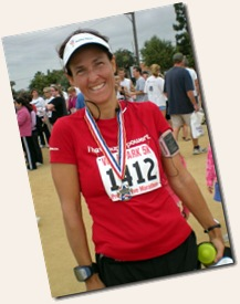 Villa park 5K post race medal3