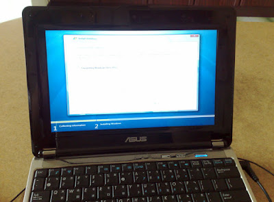 [NB]Asus N10J也加入Windows 7行列!安裝障礙排除小心得分享!