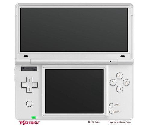 [E3 2010] Nintendo 3DS實機外觀長這樣?