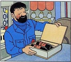 Tintin 3-D Jean-Pierre Gougeau Captain Haddocks whisky_edited