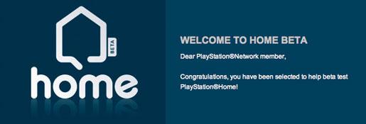 PlayStation Home Beta Tester