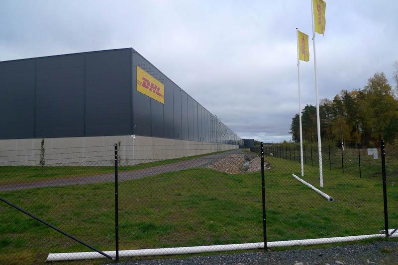 Torsvik Industriområde - Paketswichning.
