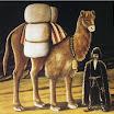 N. Pirosmani. Tatar - Camel Driver.