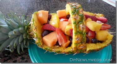 pineapple-fruit-basket