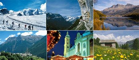 瑞士湖光山色12日