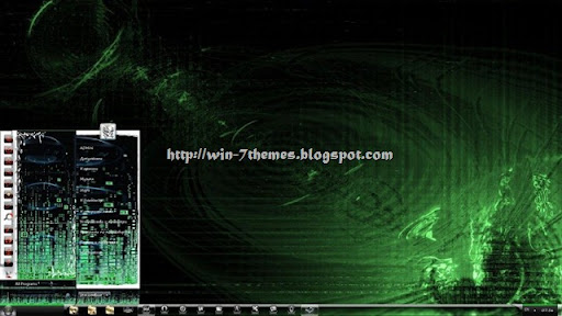windows 7 wallpaper themes. Download Free Matrix Windows 7