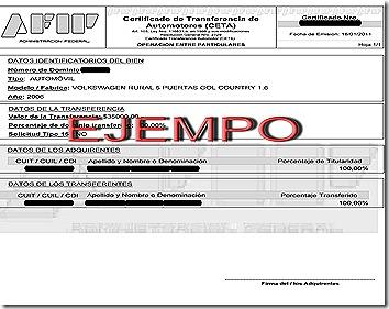 formulario ceta afip descargar