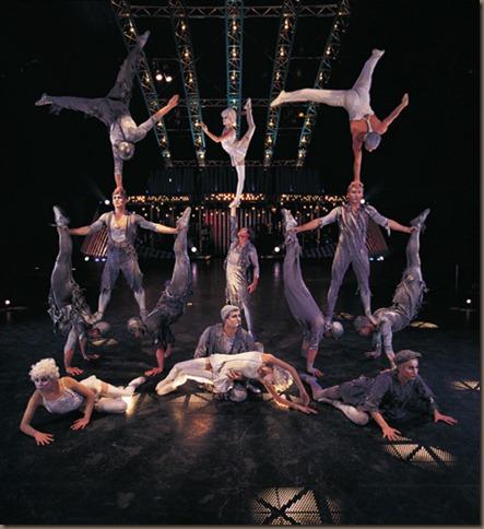 Cirque du Soleil Banquine act from Quidam