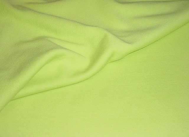 Neon Green Interlock