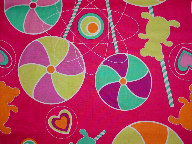 DC4411 Lollipop Dreams Pink - LESS THAN A YARD